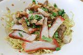 Noodles, Chinese Noodles Or Pork Noodles, Noodles Without Soup poster