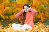 Autumn Is Finally Here. Special Instrumental Music Collection For Total Relax. Kid Girl Relaxing Nea poster