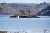 image of carron  - Loch Carron as seen from the shores of the small town of Plockton - JPG