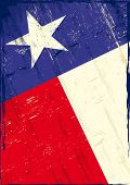 picture of texas star  - Flag of texas The flag of Texas with a texture for you - JPG