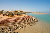 El Gouna Beach. Egypt