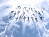image of rapture  - The Rapture of People out of the world - JPG