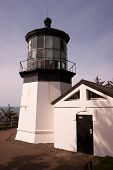 Cape Mears Lighthouse Pacific West Coast Oregon United States