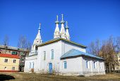 Church of Virgin of Vladimir on Bozhedomka. Yaroslavl, Russia
