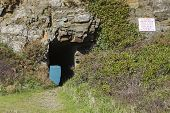 picture of sark  - Window in the rock on sark channel islands - JPG