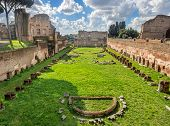 Hippodrome Stadium Of Domitian, Palatine Hill Rome