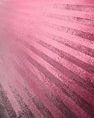 image of striping  - black pink background retro striped layout in old faded vintage colors - JPG
