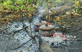 image of pot roast  - Roast in a clay pot over charcoal - JPG