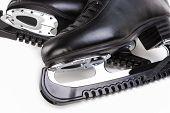 stock photo of skate  - Figure Skating Concept - JPG