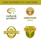 picture of ecology  - Set logo for farmers - JPG