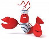 foto of lobster boat  - Fun lobster - JPG
