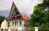 foto of southeast  - Traditional Batak house on Samosir island Sumatra Indonesia Southeast Asia - JPG