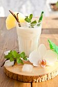 pic of pina-colada  - Pina Colada with pinapple and vanilla beans - JPG
