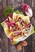 image of chicory  - chicory salad - JPG