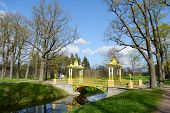pic of tsarskoe  - Bridge in the Alexander park in Tsarskoe Selo Russia - JPG