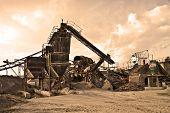 foto of crusher  - stone crushers - JPG