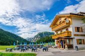 picture of south tyrol  - Shelter with exterior restaurant in Misurina - JPG