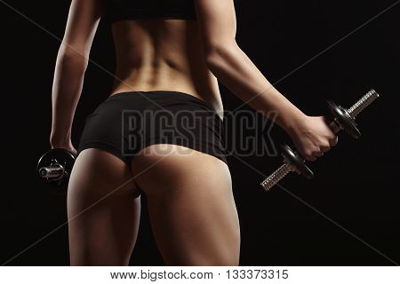 poster of Sexy Fitness Ass Close-up