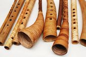 Ancient Woodwind Folk Instruments