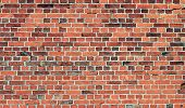 stock photo of mustering  - wall of bricks background or texture pattern - JPG