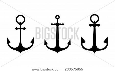 Anchor Icons A Set Of