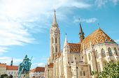 Matthias Church, Or The Church Of The Assumption Of The Buda Castle, In Budapest, Hungary. Amazing G poster