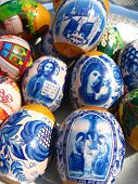 picture of deacon  - Easter eggs with Jesus Christ - JPG