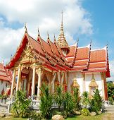 Wat Chalong at Phuket island