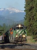 stock photo of bnsf  - The M - JPG