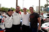 LOS ANGELES - APR 12:  Nick Wechsler, Rutledge Wood, Michael Trucco, Mark Steines at the Long Beach
