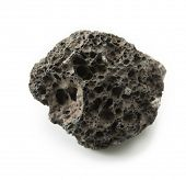 stock photo of magma  - Piece of Lava stone - JPG