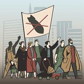 Постер, плакат: Protest