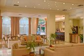 pic of reception-area  - Lounge area of a hotel - JPG
