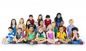 picture of innocence  - Diversity Childhood Children Happiness Innocence Friendship Concept - JPG