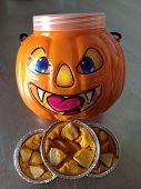 stock photo of pumpkin pie  - Cakes  - JPG