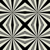 stock photo of  art  - art black graphic geometric seamless pattern - JPG