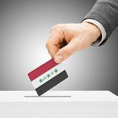 pic of iraq  - Voting concept  - JPG