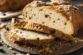 stock photo of baking soda  - Homemade Irish Soda Bread for St - JPG