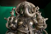 foto of ganesh  - Small Statue of Ganesh who is a hindu god called as vinayaga - JPG
