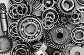 foto of interlocking  - metal spare parts - JPG