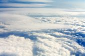 picture of cumulus-clouds  - Cumulus clouds view Sky backgrounds and textures - JPG