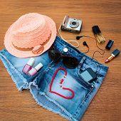 pic of beanie hat  - Summer women