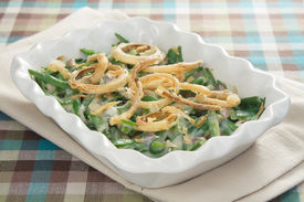 picture of green bean  - Green bean casserole  - JPG