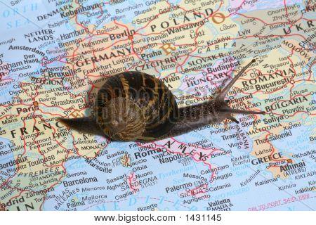 Travel Through Europe poster