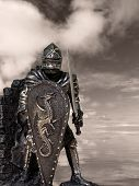 stock photo of arthurian  - Medieval Knights  - JPG