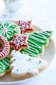 stock photo of christmas party  - Christmas cookies - JPG