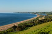 Slapton Sands Beach And Coast Devon England Uk poster