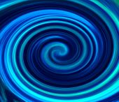 Blue vortex background.