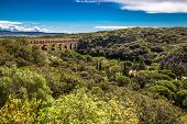 Roman Aqueduct Pont Du Gard - Nimes, France, Europe poster