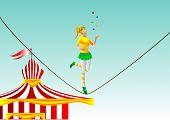 pic of juggler  - circus - JPG